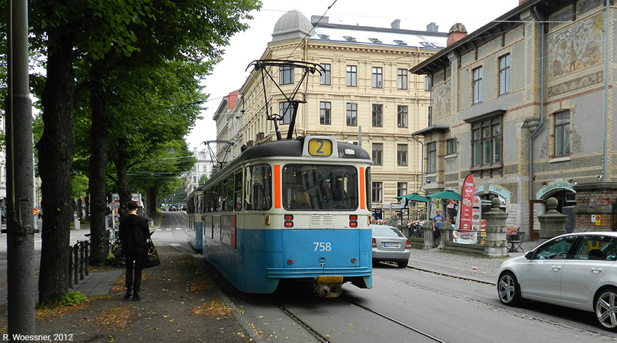 Raymond Woessner — tram à Goteborg