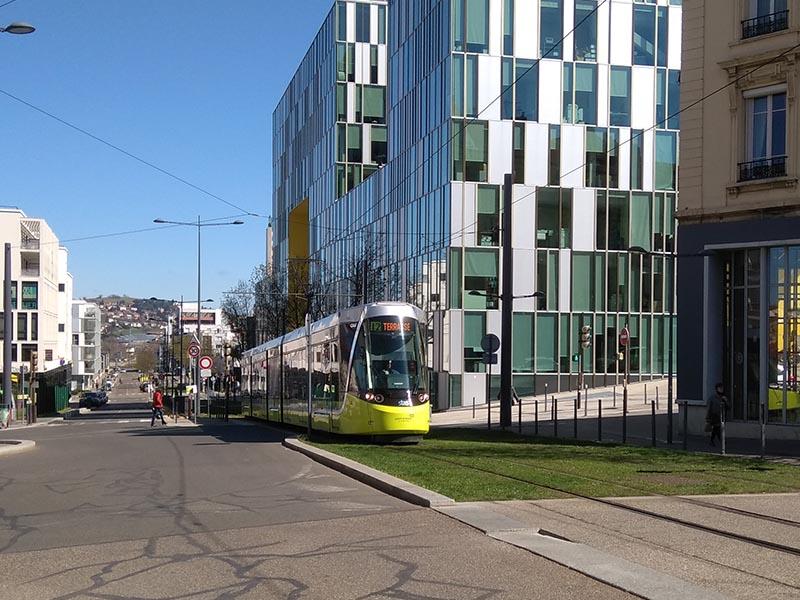 Photographie tram saint-étienne libre de droit