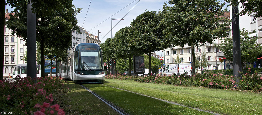 CTS — tram à strasbourg photo