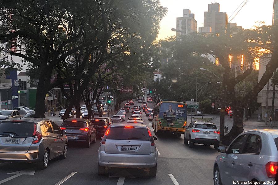 Eugênia Viana Cerqueira | embouteillage à Belo Horizonte