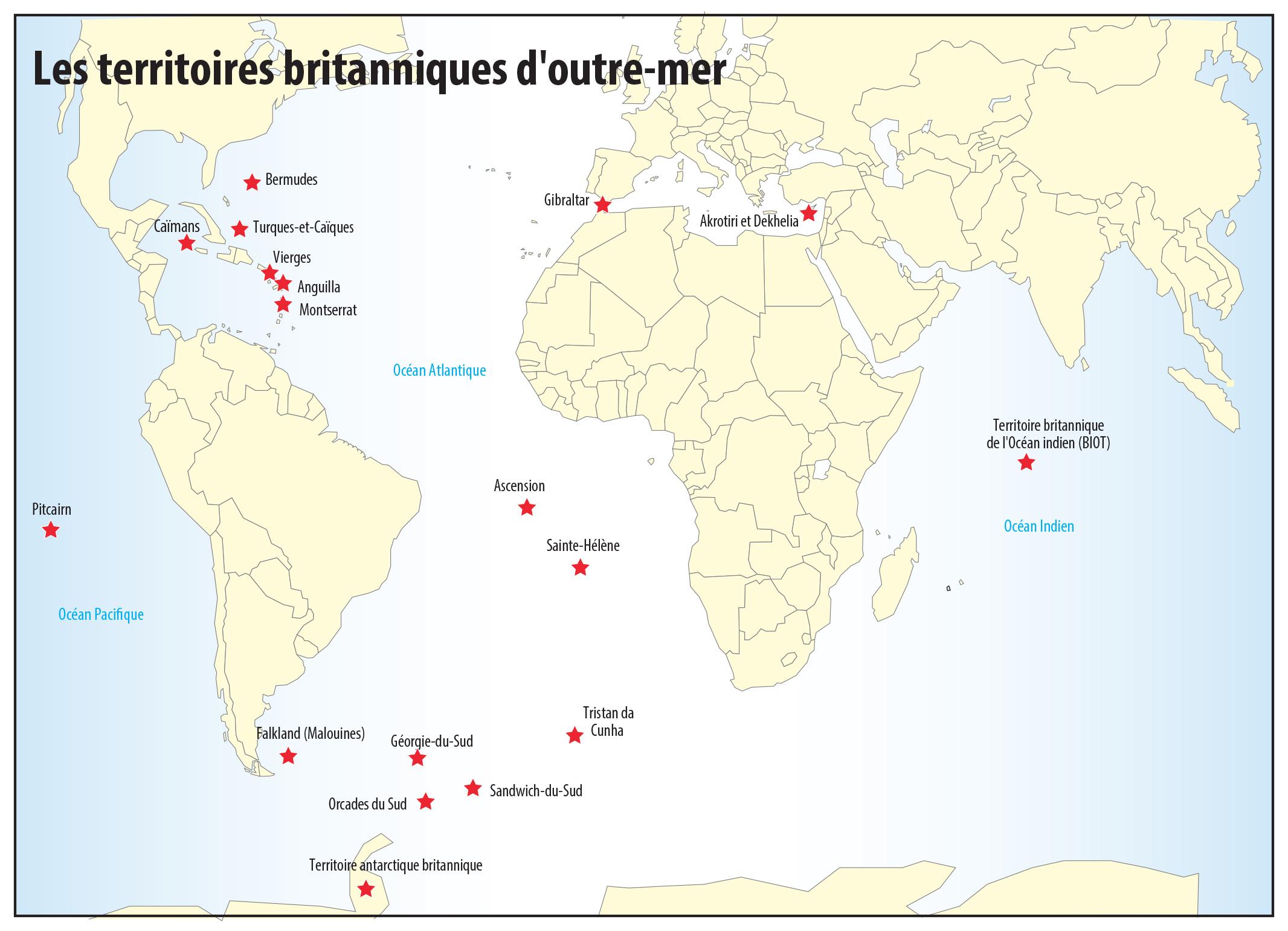 Pascal Orcier — L'outre-mer britannique