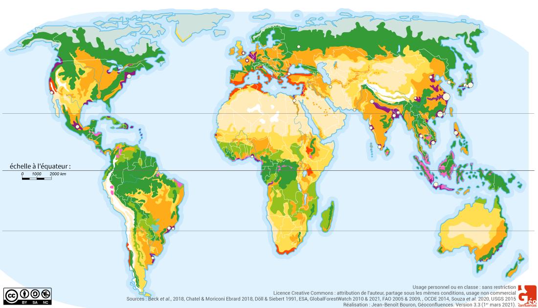 monde agriculture carte mue