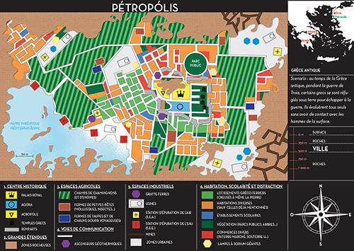 Petropolis carte concours cartographie imaginaire