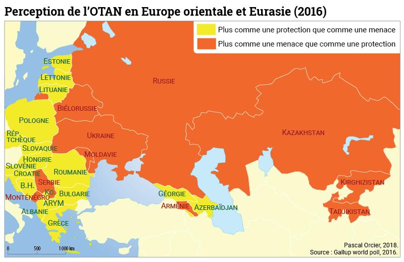 Pascal Orcier — Perception de l'OTAN en Europe orientale et Eurasie 2016