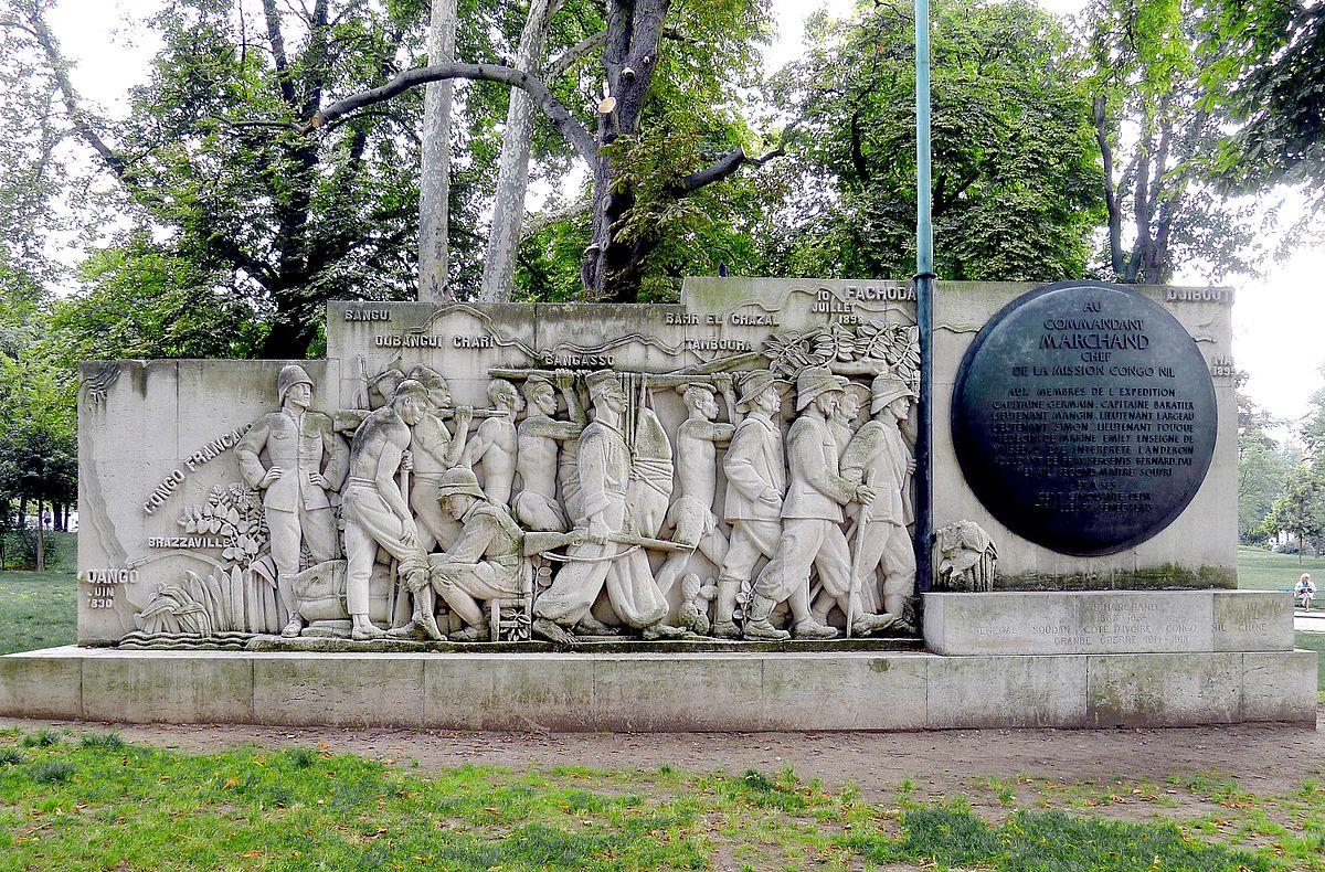 monument Gaudry à la mission Marchand