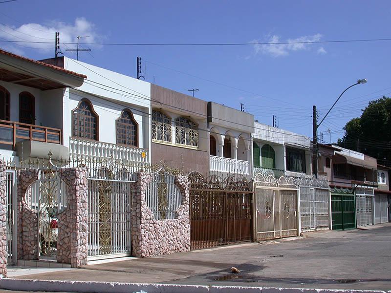 Nucleo Bandeirante, une rue. Cliché H. Théry.