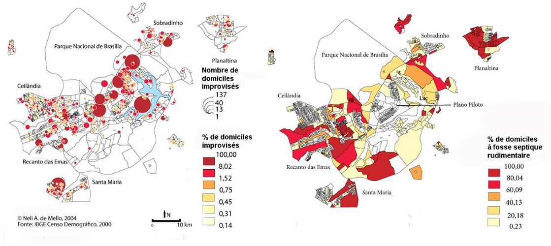 Hervé Théry Nelli A. De Mello — cartographie domiciles improvisés