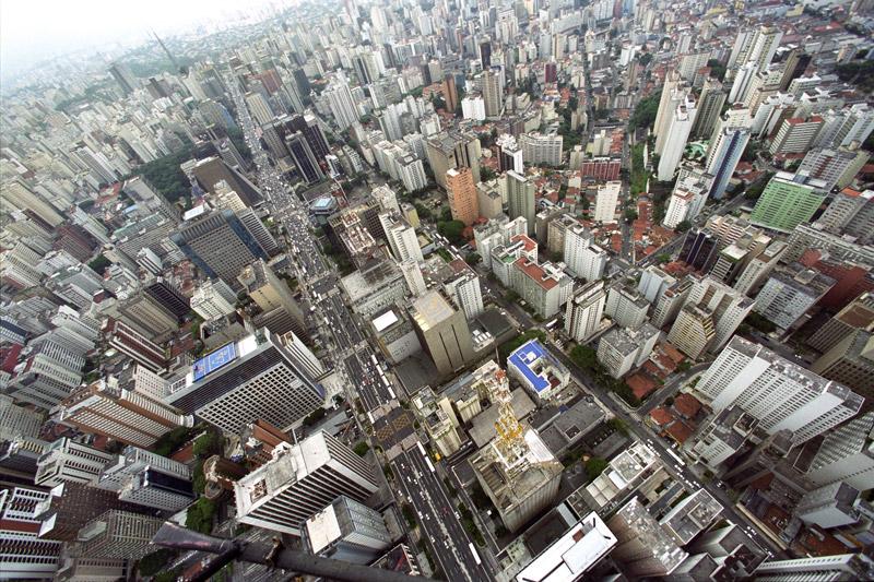 Tuca Vieira Sao Paulo vu du ciel photographie