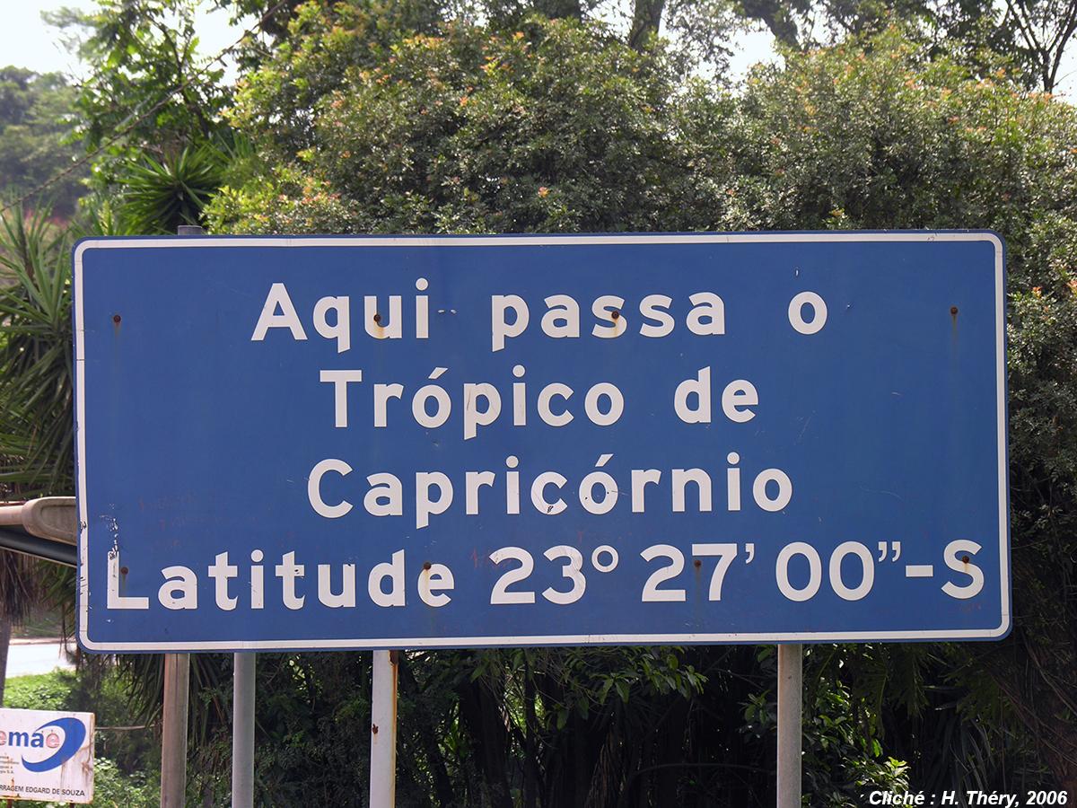 photographie tropique capricorne Brésil Sao Paulo