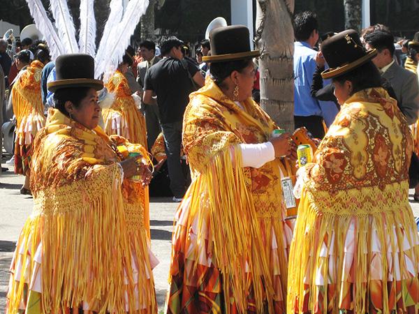 Bolivie à Sao Paulo