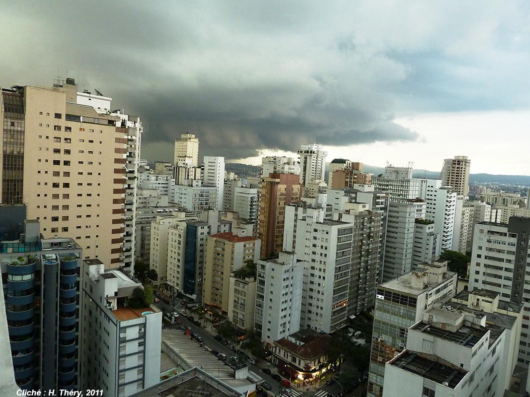 photographie pluie climat Brésil Sao Paulo