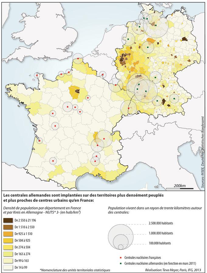 Connu Le nucléaire et le territoire : regards sur l'intégration spatiale  FM72