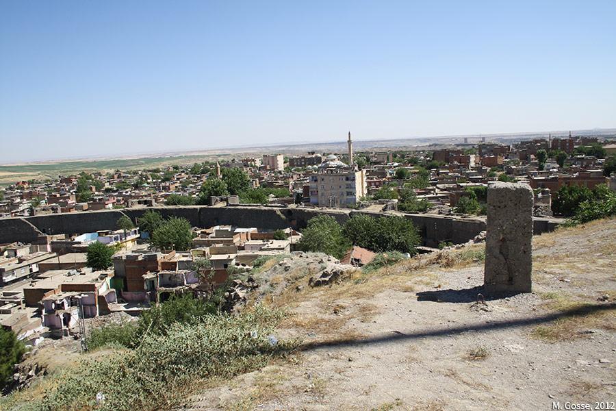 Matthieu Gosse — Urbicide à Diyarbakir, vue depuis le höyük