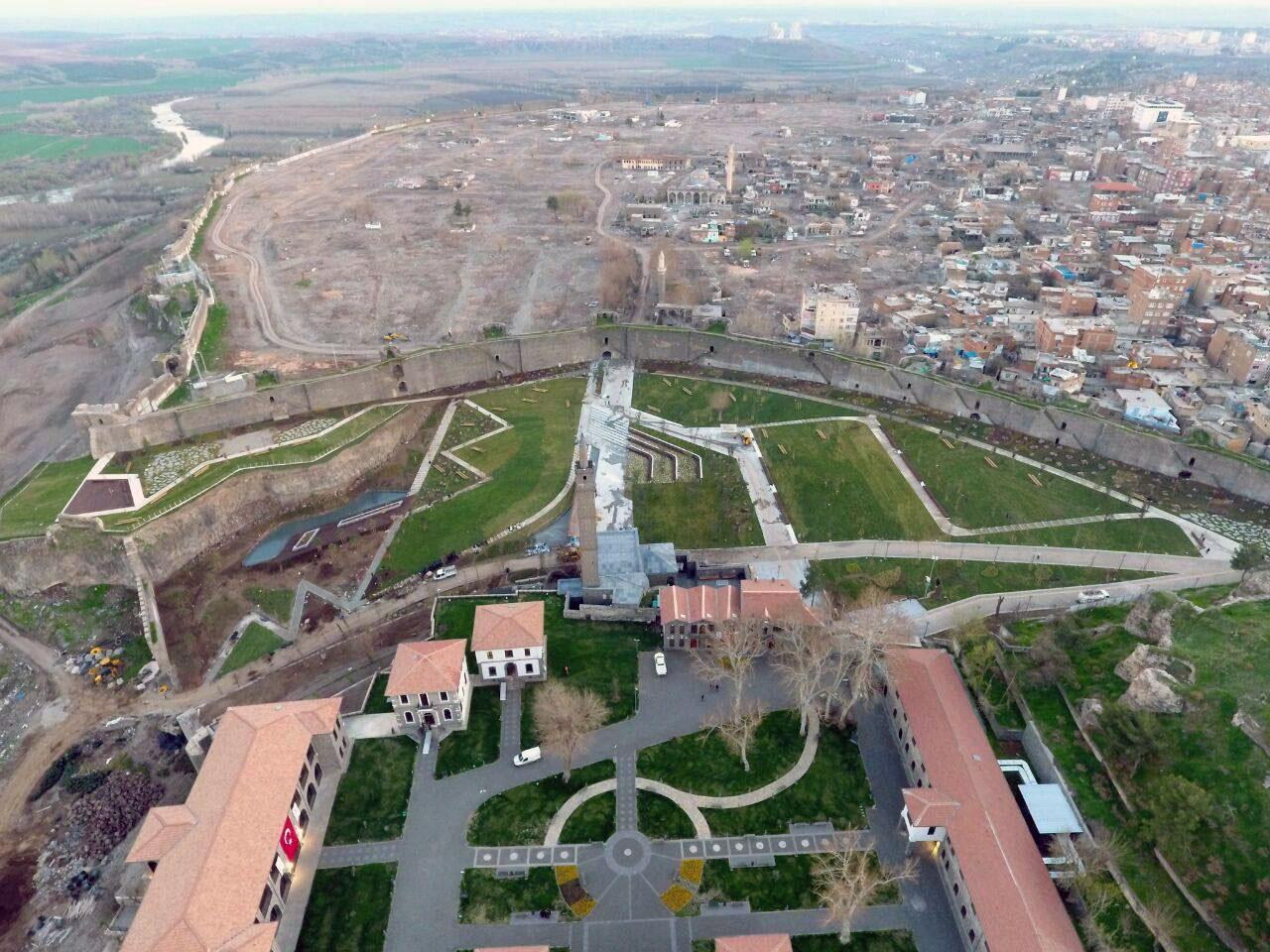 Urbicide sur Diarbakir Turquie photographie aérienne