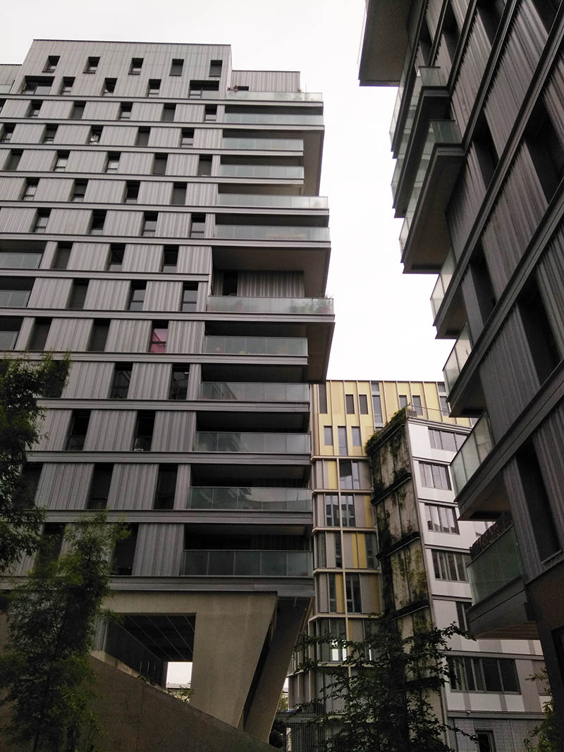 Verticalisation et végétalisation: regards sur la ville