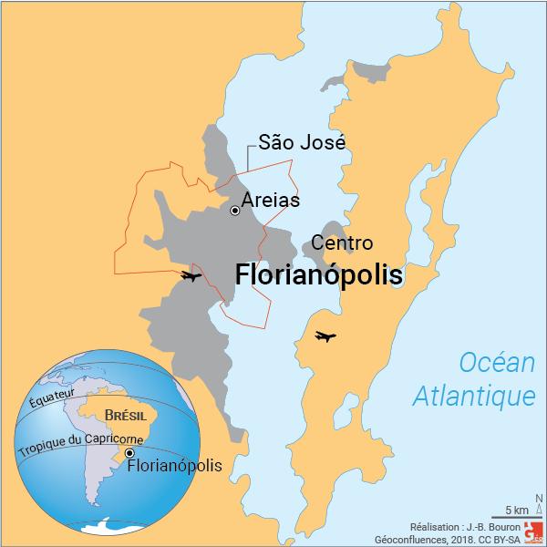 Localisation Florianopolis Brésil