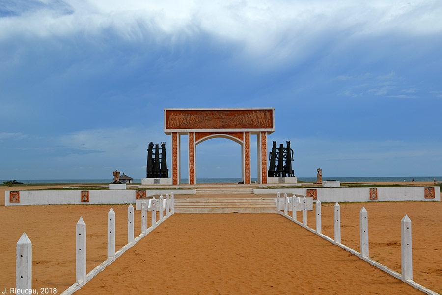 Jean Rieucau — Porte du Non-retour à Ouidah
