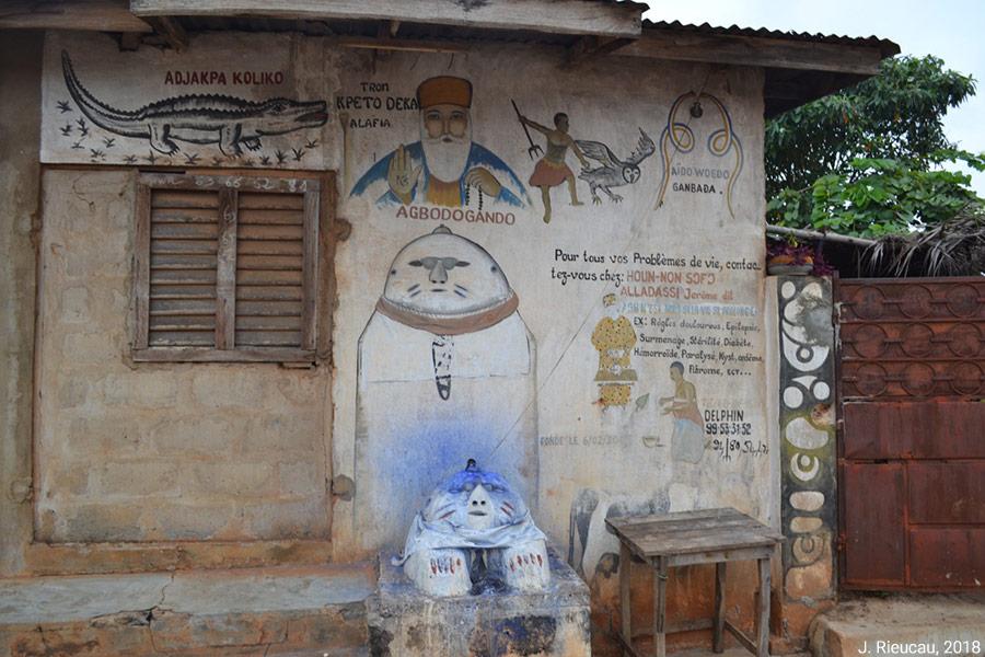 Jean Rieucau — Vaudou au Bénin