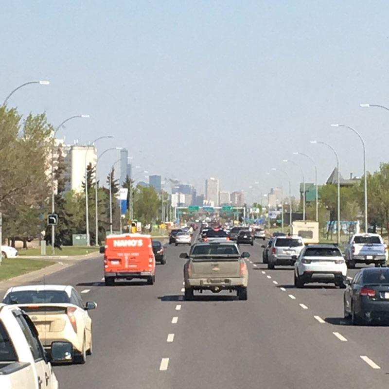 Emmanuelle Santoire — Arrivée à Edmonton