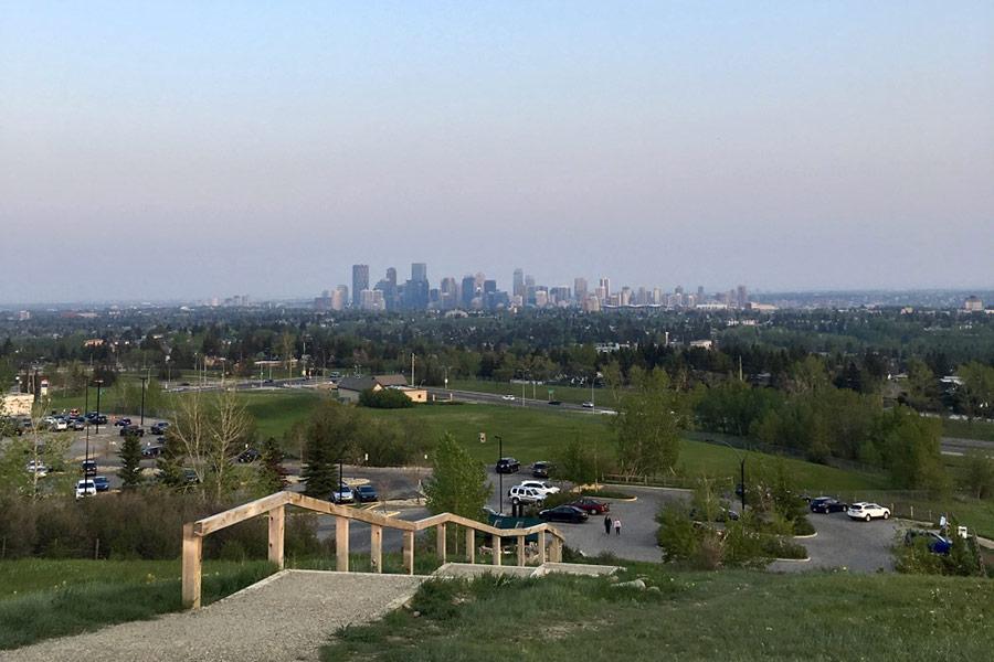 Emmanuelle Santoire — skyline de Calgary