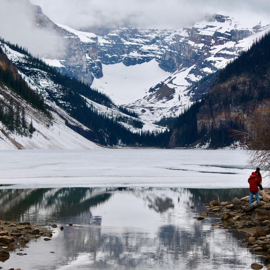Emmanuelle Santoire — Lac Louise / Lake Louise