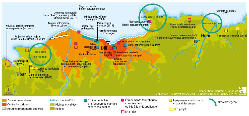 Christine Cabasset — Dili Timor-leste Carte Map
