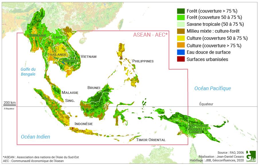 Jean-Daniel Cesaro - FAO - Climat occupation du sol asie du sud est