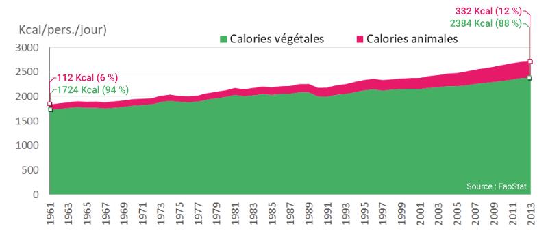 calories animales et végétales en asie du sud est FaoStat