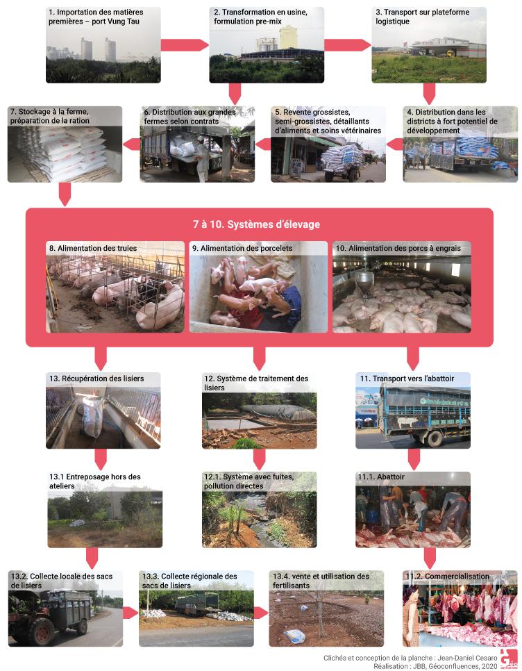 Jean-Daniel Cesaro — système d'élevage porcin filière