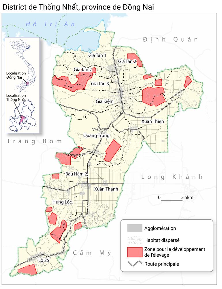 Jean-Daniel Cesaro — zones de développement de l'élevage