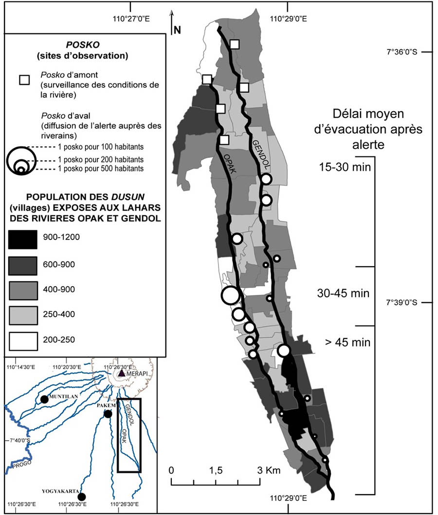 Édouard de Bélizal — carte évacuation du bassin versant