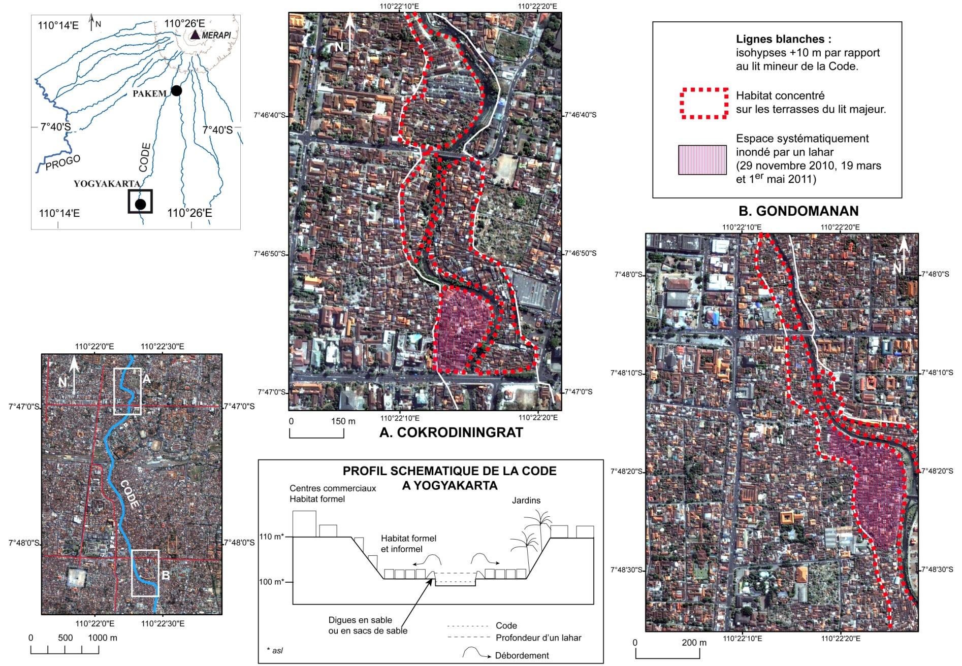 Édouard de Bélizal — risque volcanique en Indonésie, espace urbain et lahars