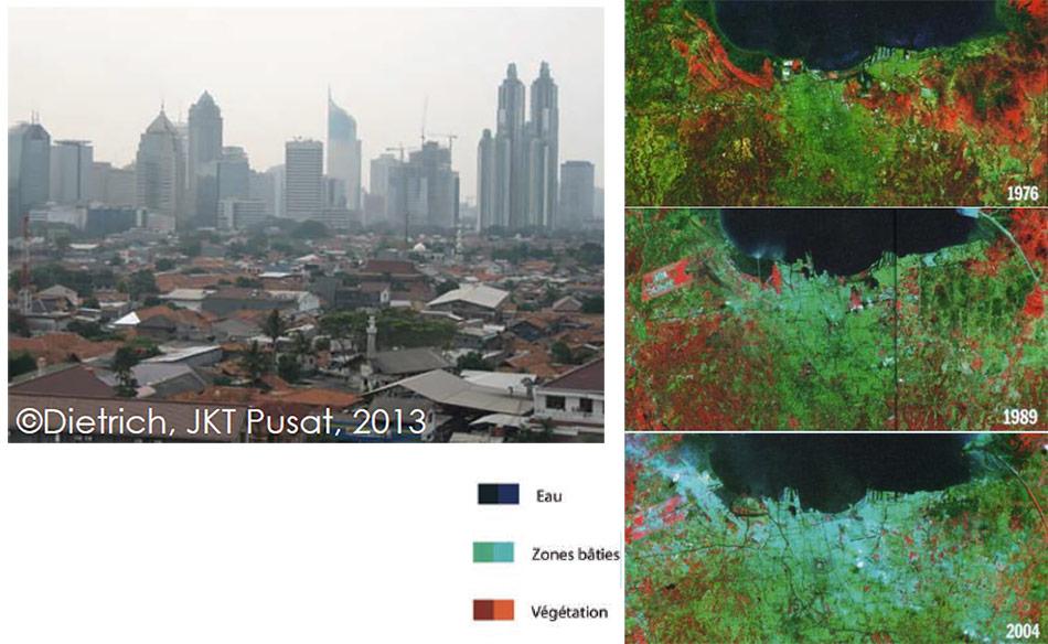 Judicaëlle Dietrich — artificialisation des sols à Jakarta