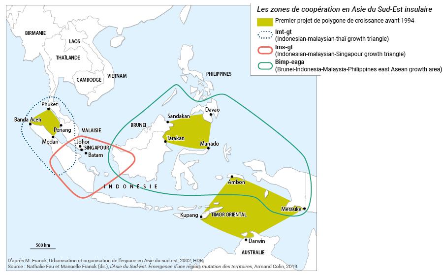 centres et périphéries asie coopération économique et intégration