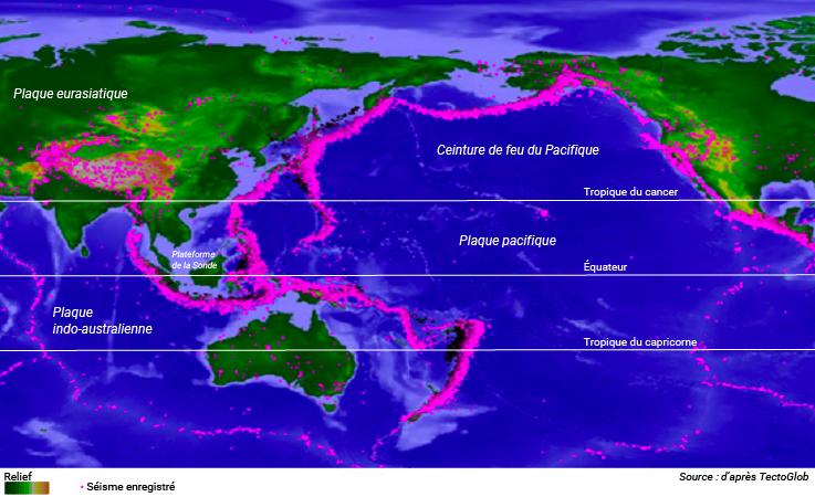 séismes et plaques