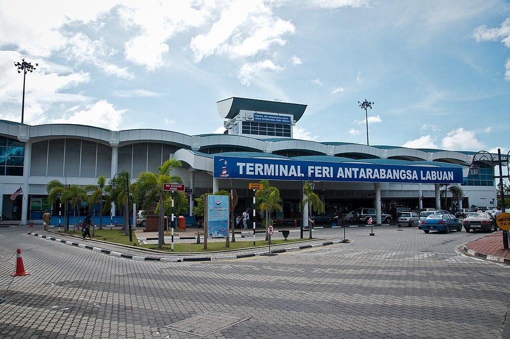 terminal de ferries Labuan photographie