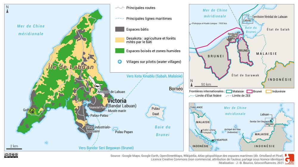 localisation labuan malaisie carte