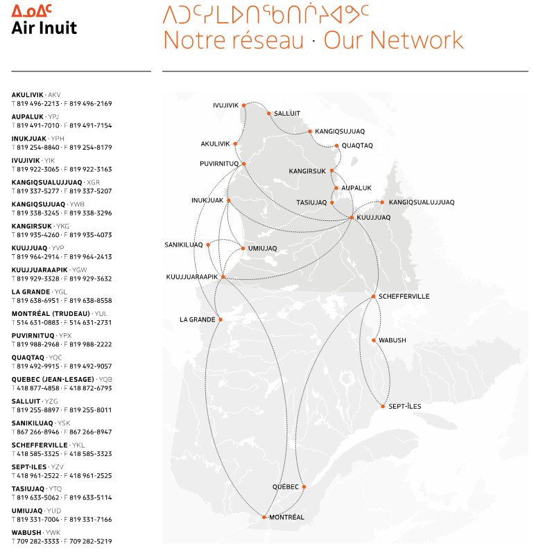 Joliet et Chanteloup — Air Inuit