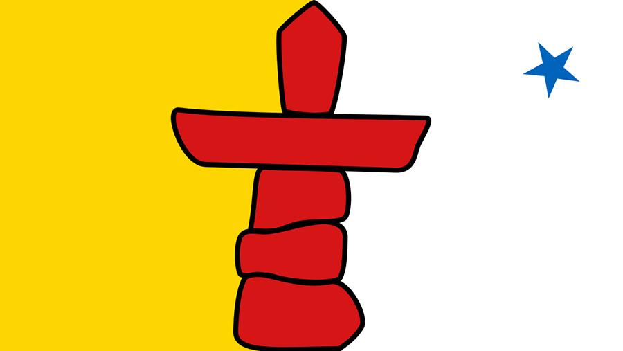 Drapeau du Nunavut