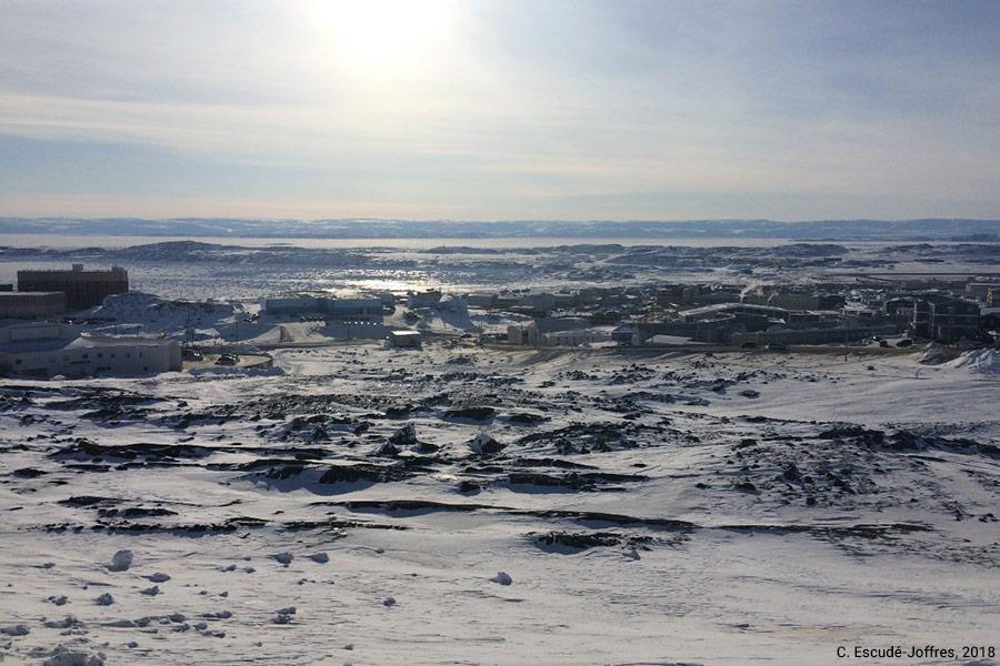 Camille Escudé-Joffres — Iqaluit Canada Nunavut photo