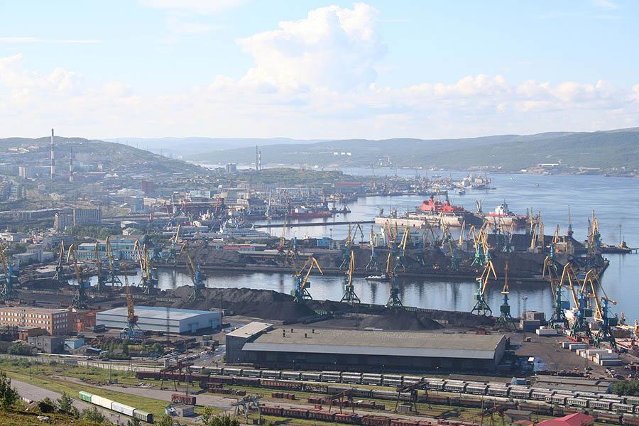 Port de Mourmansk photographie