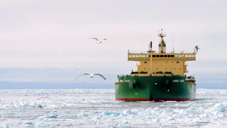 Nordic Orion transport de charbon