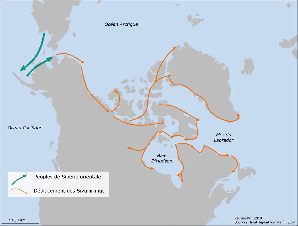 Dans l'Arctique canadien: une navigation ancienne