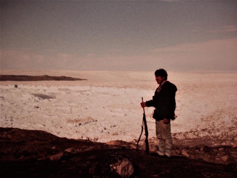 groenland 20e siècle mémoire photographie ancienne scène de chasse