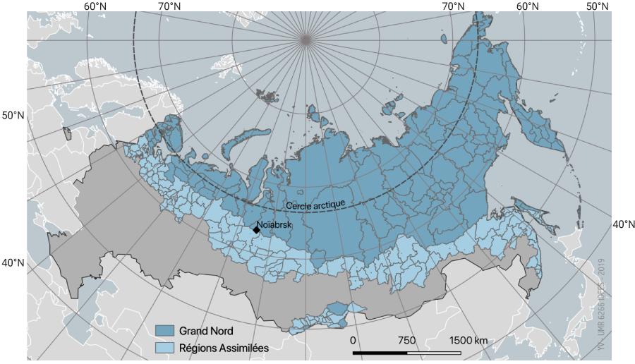 Grand Nord et régions assimilées en Russie