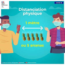 distanciation physique 5 ananas
