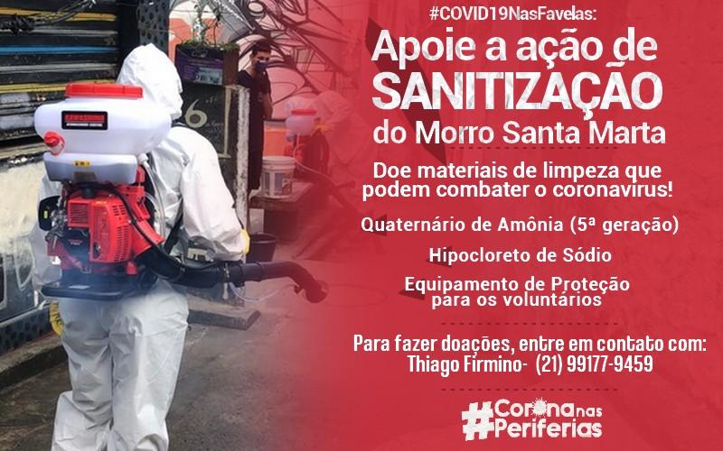 Appel Covid Favelas Brésil