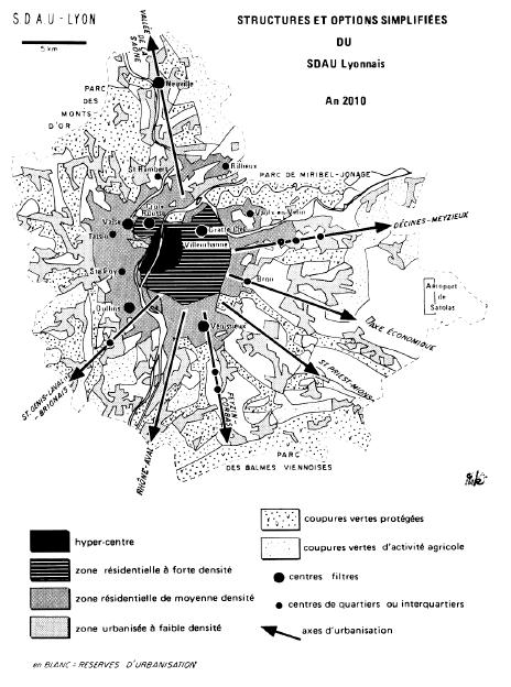SDAU Lyonnais 1969
