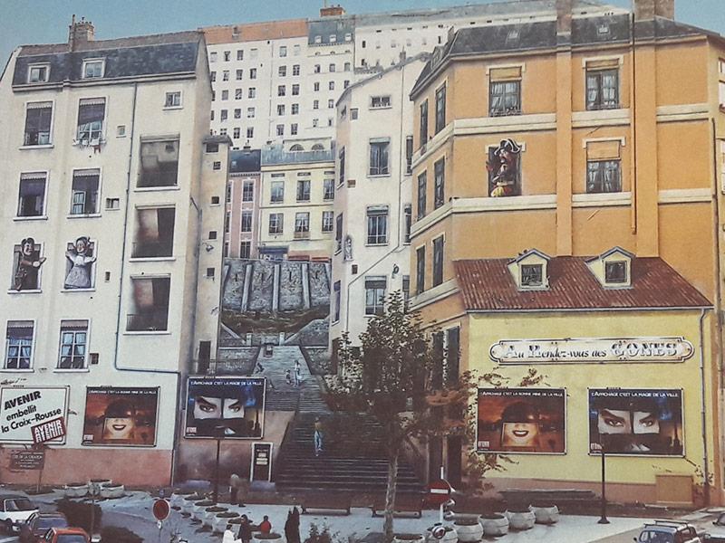 Amélie Deschamps — Mur des Canuts 1987