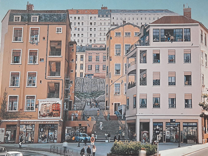 Amélie Deschamps — Mur des Canuts 1997